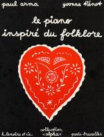 Le Piano inspire du Folklore Sheet Music