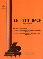 Le Petit Bach - Volume 1 Sheet Music