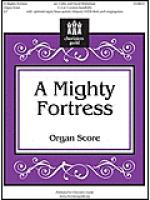 A Mighty Fortress - Organ Score Sheet Music