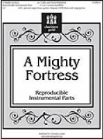 A Mighty Fortress - Instrumental Parts Sheet Music