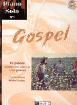 Piano solo, No. 1 : Gospel Sheet Music