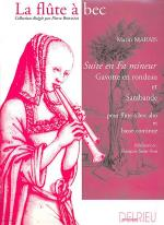 Suite En Fa Mineur Sheet Music