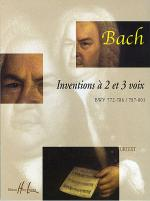 Inventions a 2 Et 3 Voix Sheet Music