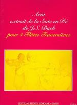 Aria De La Suite En Re Majeur Sheet Music