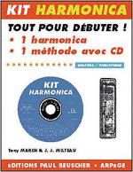 CD A L'Harmonica Blues - Kit Sheet Music