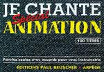 Je Chante Special Animation Sheet Music