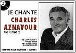 Je Chante Aznavour - Volume 2 Sheet Music