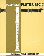 Special flute a bec, No. 2 Sheet Music
