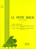 Le Petit Bach - Volume 2 Sheet Music