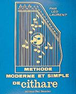 Methode Moderne De Cithare Sheet Music