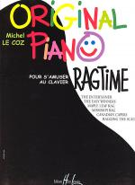 Original Piano Ragtime Sheet Music
