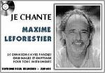 Je Chante Le Forestier Sheet Music