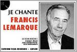 Je Chante Lemarque Sheet Music