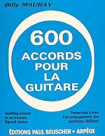 Accords Pour La Guitare (600) Sheet Music