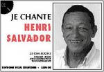 Je Chante Salvador Sheet Music