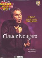 Guitare solo, No. 3 : Claude Nougaro Sheet Music