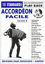 Accordeon Facile - Volume 2 Sheet Music