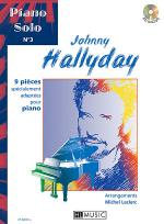 Piano solo, No. 3 : Johnny Hallyday Sheet Music