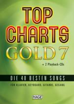 Hage Musikverlag Top Charts Gold 7 Sheet Music