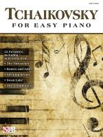 Tchaikovsky For Easy Piano Sheet Music