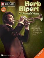 Jazz Play-Along Volume 164: Herb Alpert Sheet Music
