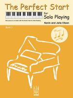 Kevin Olson/Julia Olson: The Perfect Start For Solo Playing - Book 1 Sheet Music