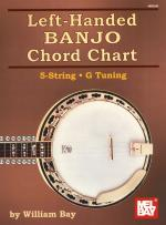 William Bay: Left-Handed Banjo Chord Chart Sheet Music