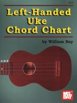 William Bay: Left-Handed Uke Chord Chart Sheet Music