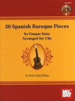 Gaspar Sanz: 20 Spanish Baroque Pieces (Ukulele) Sheet Music