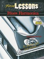 David Barrett: First Lessons Blues Harmonica Sheet Music