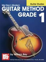 William Bay: Modern Guitar Method Grade 1 (Guitar Studies) Sheet Music