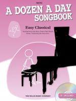 A Dozen A Day Songbook: Easy Classical - Mini Sheet Music
