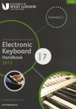 London College Of Music: Electronic Keyboard Handbook 2013 - Grade 7 Sheet Music