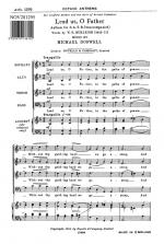 Michael Doswell: Lead Us, O Father Sheet Music