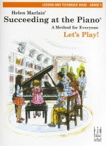 Helen Marlais: Succeeding At The Piano - Grade 4 Lesson And Technique (Book Only) Sheet Music