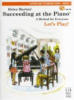 Helen Marlais: Succeeding At The Piano - Grade 4 Lesson And Technique (Book/CD) Sheet Music