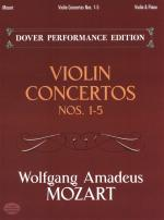 Wolfgang Amadeus Mozart: Violin Concertos Nos.1-5 (Violin/Piano) Sheet Music