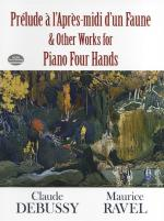 Claude Debussy: Prelude a l'Apres-midi d'un Faune and Other Works for Piano Four Hands Sheet Music