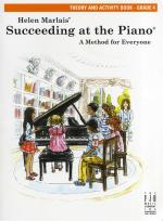 Helen Marlais: Succeeding At The Piano - Grade 4 Theory And Activity Book Sheet Music