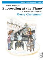 Helen Marlais: Succeeding At The Piano - Grade 3 Merry Christmas Book Sheet Music