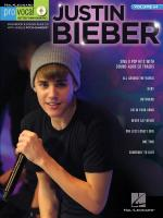 Pro Vocal Men's Edition Volume 64: Justin Bieber Sheet Music