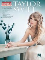 Taylor Swift: Recorder Songbook Sheet Music
