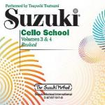Suzuki Cello School CD - Volume 3 & 4 Sheet Music