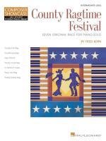 Fred Kern: County Ragtime Festival Sheet Music