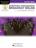 Alto Saxophone Play-Along: Stephen Sondheim - Broadway Solos Sheet Music