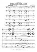 John Pickard: Ubi Caritas Et Amor Sheet Music
