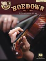 Violin Play-Along Volume 33: Hoedown Sheet Music