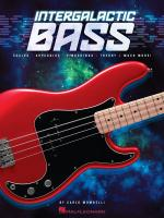 Carlo Mombelli: Intergalactic Bass Sheet Music