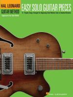 Hal Leonard Guitar Method: Easy Solo Guitar Pieces Sheet Music