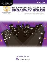 Viola Play-Along: Stephen Sondheim - Broadway Solos Sheet Music